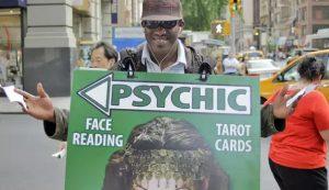 Seeing through a fake psychic